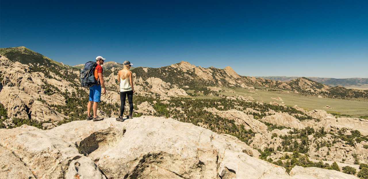 Hiking at City of Rocks National Reserve